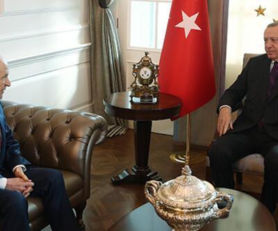 Cumhurbaşkanı Erdoğan, Bahçeli ile görüşüyor