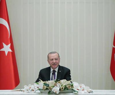 Cumhurbaşkanı Erdoğan, şampiyon Beşiktaş'ı kabul etti