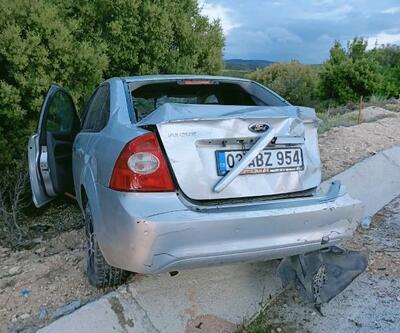 Dinar'da kaza: 1 yaralı