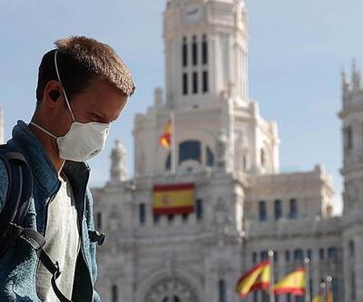 İspanya'da Kovid-19'dan son 3 günde 91 kişi hayatını kaybetti
