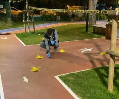 Ümraniye'de çocuk parkında dehşet