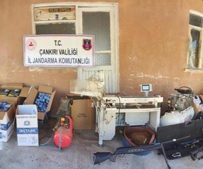 Çankırı'da kaçak sigara operasyonu