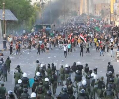 Irak'ta hükümet karşıtı gösteri