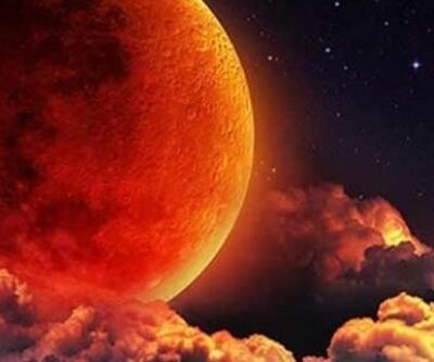 Kanlı ay tutulması ne zaman, saat kaçta? 26 Mayıs 2021 Kanlı Ay Türkiye'den görülecek mi?