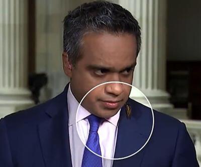 CNN International muhabirinin böcekle imtihanı