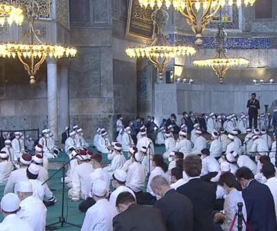 Cumhurbaşkanı Erdoğan icazet törenine katıldı