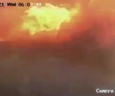 İsrail'in bombasıyla yer yarıldı!