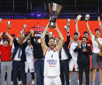 Anadolu Efes Euroleague şampiyonu oldu