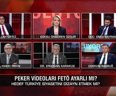 Sedat Peker videoları FETÖ ayarlı mı? Amaç Türkiye'yi seçime zorlamak mı? SİHA F-35'e rakip mi oldu? Ne Oluyor?'da mercek altına alındı