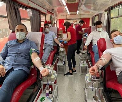 Orhangazi'de kan bağışına destek