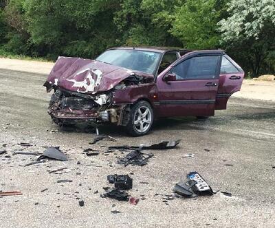 Ağlasun'da kaza: 2 yaralı