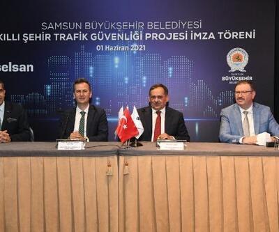 Samsun'da 'Akıllı Şehir Trafik Güvenliği' projesi hayata geçiyor