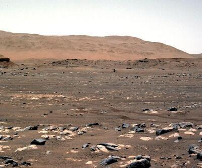 NASA çarpıcı kareleri paylaştı: Kızıl Gezegen'deki ilk 100 gün
