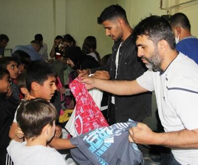 Bingöl'de 300 çocuğa spor malzemesi dağıtıldı