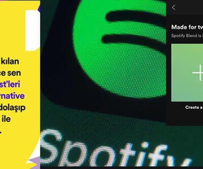 Spotify sadece sen nedir, nasıl kullanılır? Spotify sadece sen çıkmıyor! Spotify Blend ne demek?