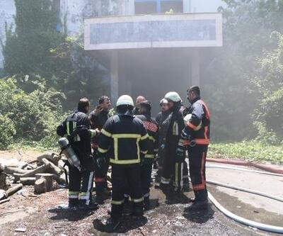 Fabrika çalışanlarına yangına müdahale eğitimi verildi