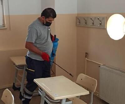 Beşiktaş Belediyesi LGS öncesi okulları dezenfekte etti