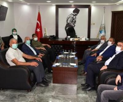 Başkan Zeybek'ten Başkan Sarı'ya ziyaret