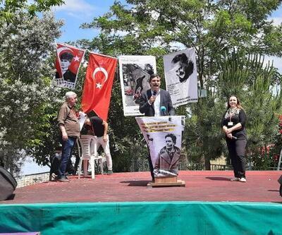 Bursa'da Nazım Hikmet'in ölümünün 58. yılında anma programı düzenlendi
