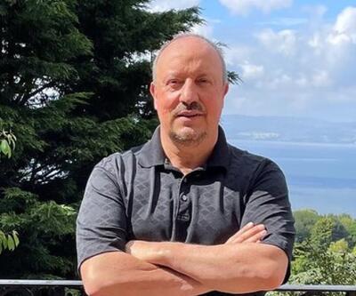 Rafa Benitez'den tatil paylaşımı