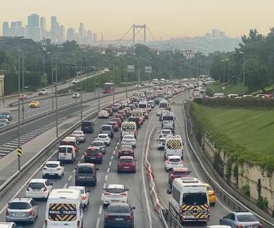 Kısıtlama ardından köprü trafiğinde yoğunluk