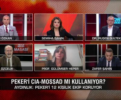 Peker'i CIA-Mossad mı kullanıyor? Peker bir planın parçası mı? Millet İttifakı neden seçim istiyor? CNN TÜRK Masası'nda tartışıldı