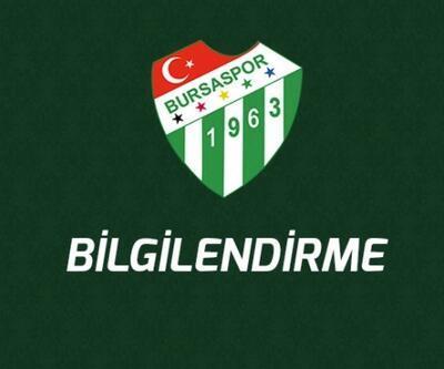Bursaspor'da teknik heyet ve kulüp personeline ödeme