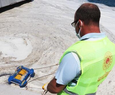 Çanakkale'de müsilaj temizleme çalışmalarında 2. gün