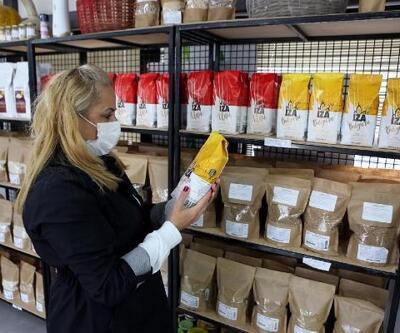 Bolu'ya has yöresel ürünler, kurulan satış noktalarında satılıyor