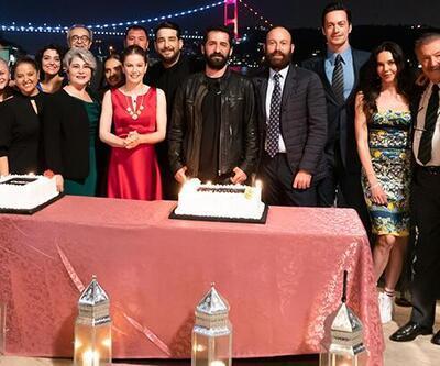 'Camdaki Kız' ekibi başarısını kutladı