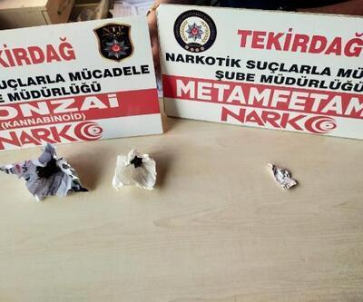 Tekirdağ'da uyuşturucu operasyonunda 4 şüpheli yakalandı