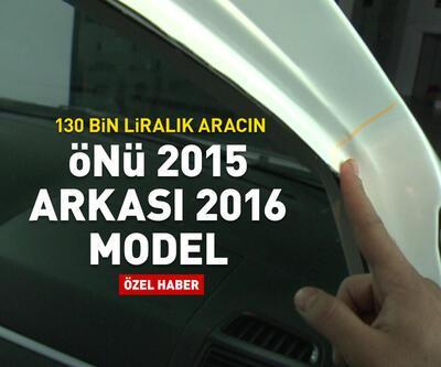 Arkası 2016, önü 2015 model