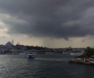 SON DAKİKA: Meteoroloji'den İstanbul'a sağanak ve dolu uyarısı