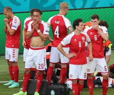 EURO 2020'de büyük şok! Eriksen kalp krizi geçirdi