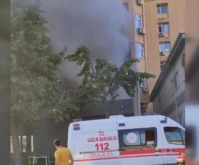 Cerrahpaşa Tıp Fakültesi'nde yangın