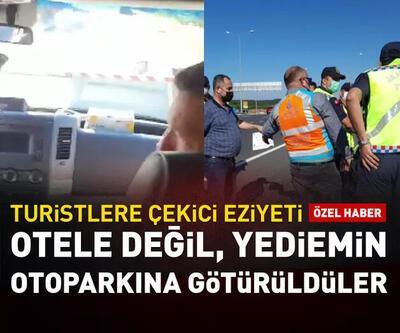 İstanbul'da turistlere çekici eziyeti