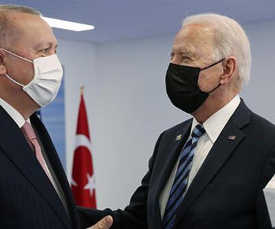 Erdoğan'ın Joe Biden ile görüşmesi sona erdi