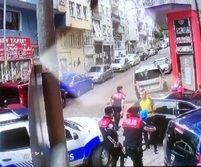 Bursa'da kovalamaca kazayla bitti: 1 polis yaralandı