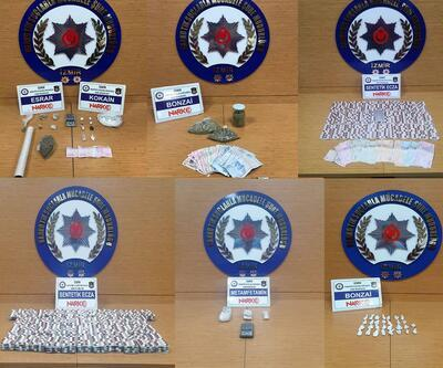 İzmir'de zehir tacirlerine darbe: 16 tutuklama