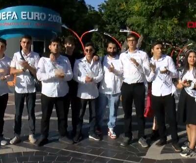 Azerbaycan'dan A Milli Takım'a büyük destek