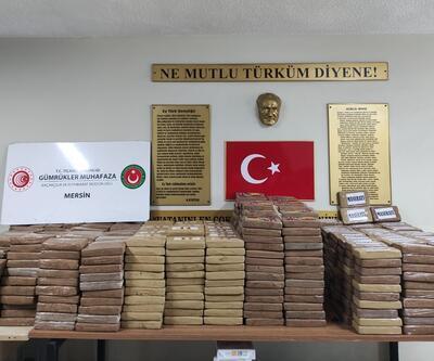 SON DAKİKA: Mersin Limanı'nda rekor miktarda kokain yakalandı