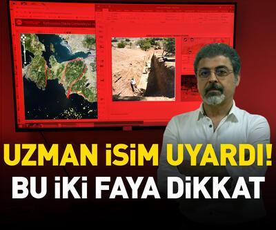 İzmir'deki 2 faya dikkat çekti