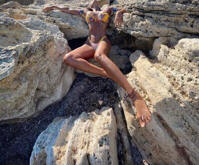 Eda Taşpınar'dan bikinili paylaşım
