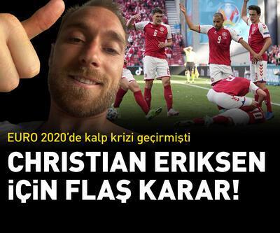 Christian Eriksen yaşamını kalp piliyle sürdürecek