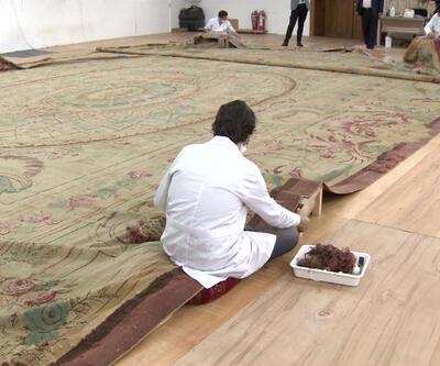 120 yıllık halı restore ediliyor