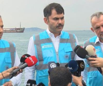 Son dakika haberi: Bakan Kurum'dan müsilaj açıklaması