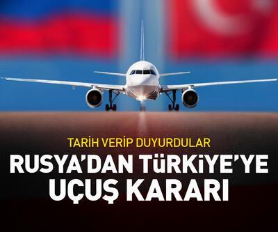 Rusya'dan Türkiye'ye uçuş kararı