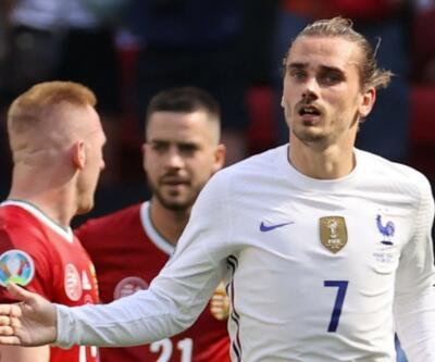 Fransa 5 maç sonra gol yedi