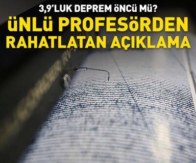 Prof. Dr. Ercan'dan rahatlatan açıklama