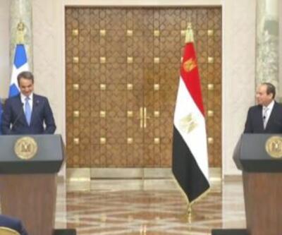 Miçotakis El Sisi ile görüştü